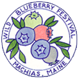 Machias Wild Blueberry Festival Logo