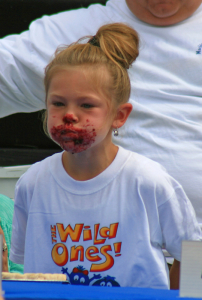 Machias Wild Blueberry Festival Pie Eating Contest