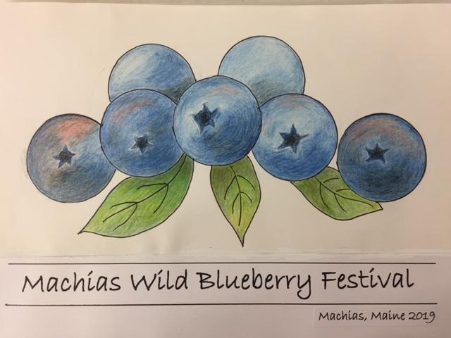 Brooksville Blueberry Festival 2020.Blueberry Festival T Shirt Design Contest Machias Wild